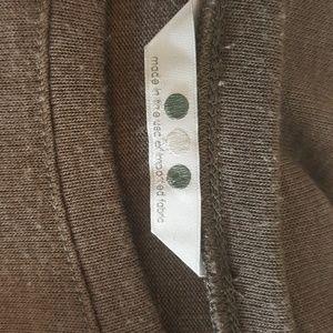 Three Dots Tops - Three Dots taupe and black tunic M